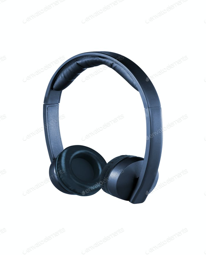 headphones isolated