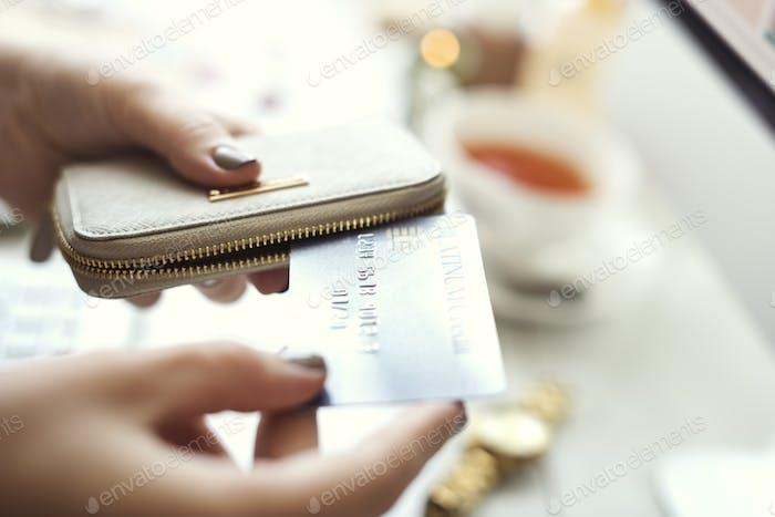 Shopping Online Commercial Consumer Spending Concept