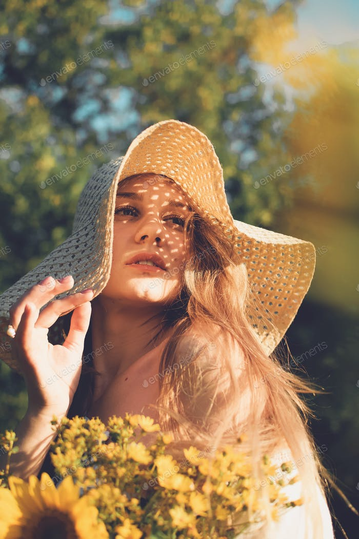 Embracing Natural Beauty, Pamper yourself, Skin care tips. Young woman with natural beauty enjoying