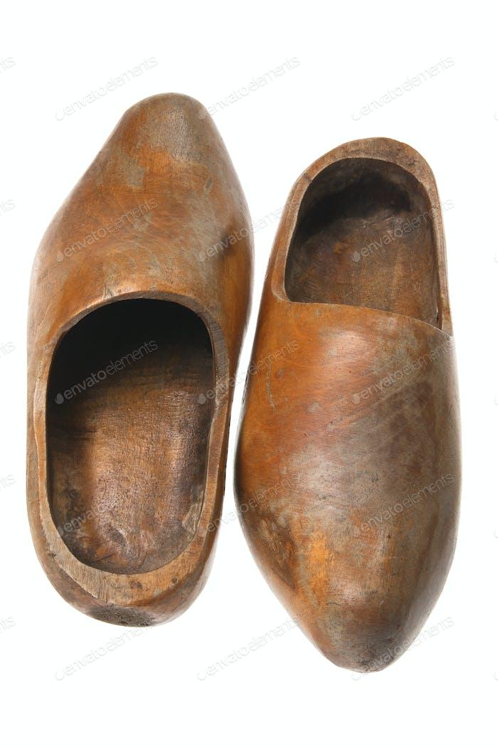 Wooden Dutch Clogs