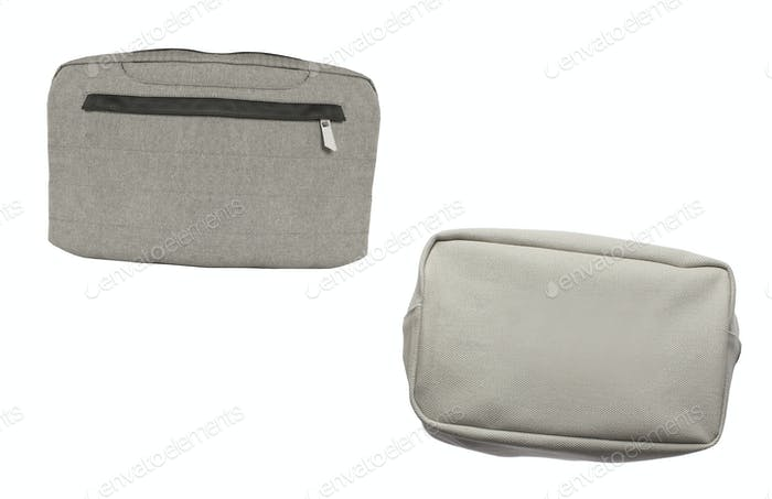 Laptop bags on isolated on white background