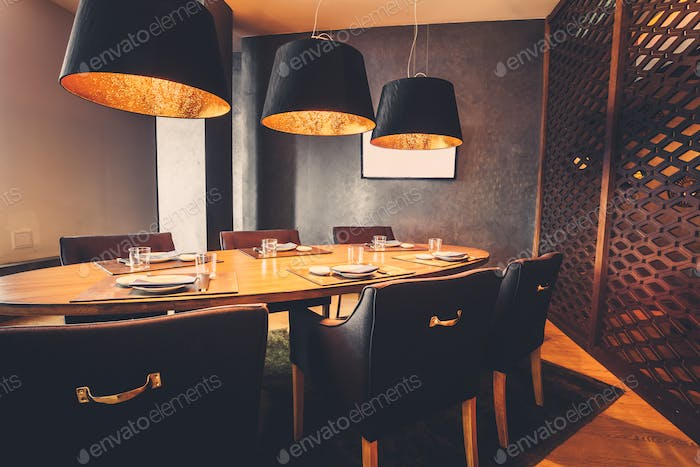 meeting place in restaurant