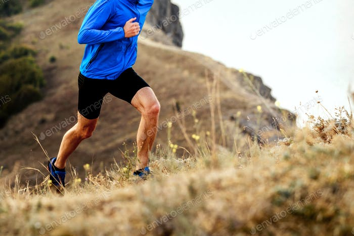Sportler Herren Läufer