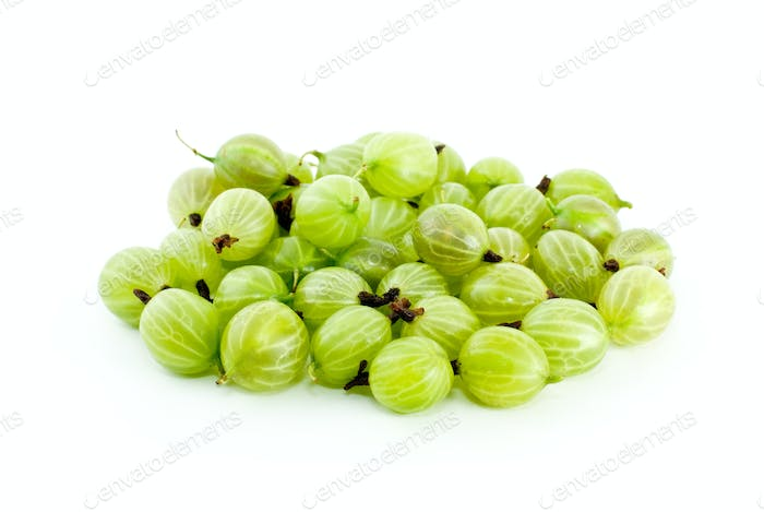 Pile of gooseberries