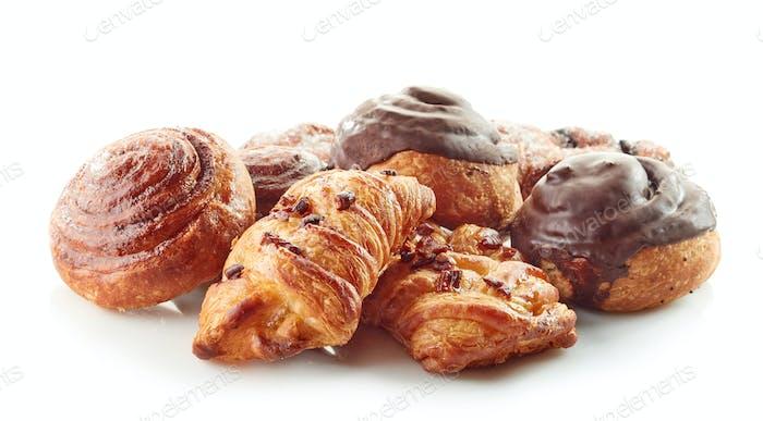freshly baked pastries