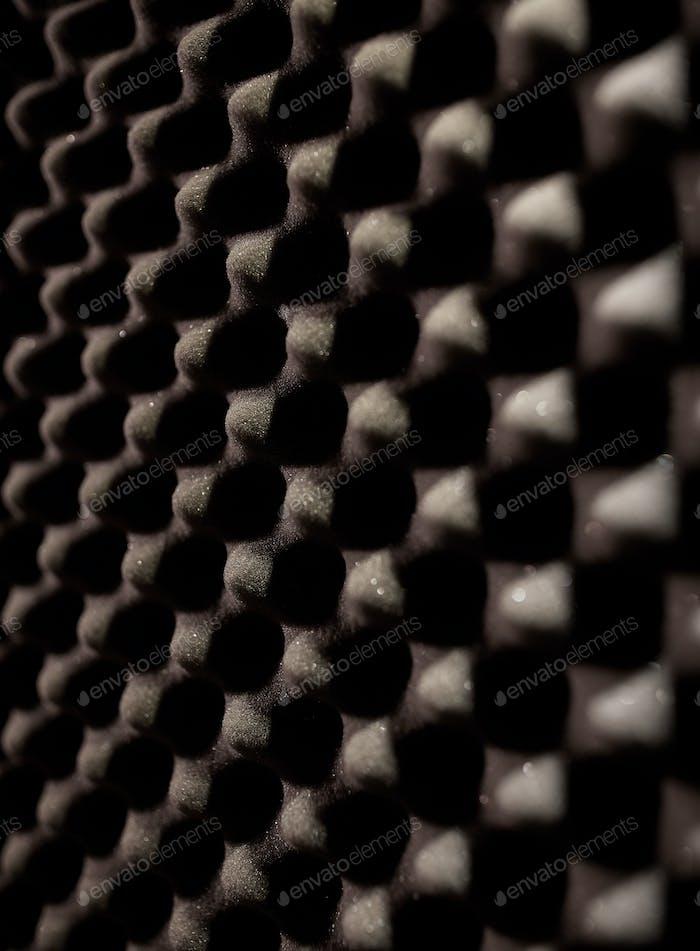 foam rubber acoustic material