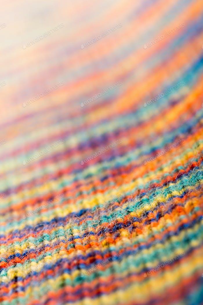 Gestrickte Textur