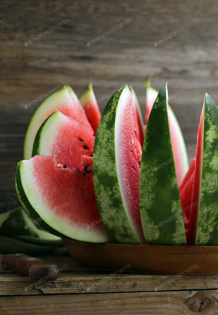 Organic Ripe Sweet Watermelon