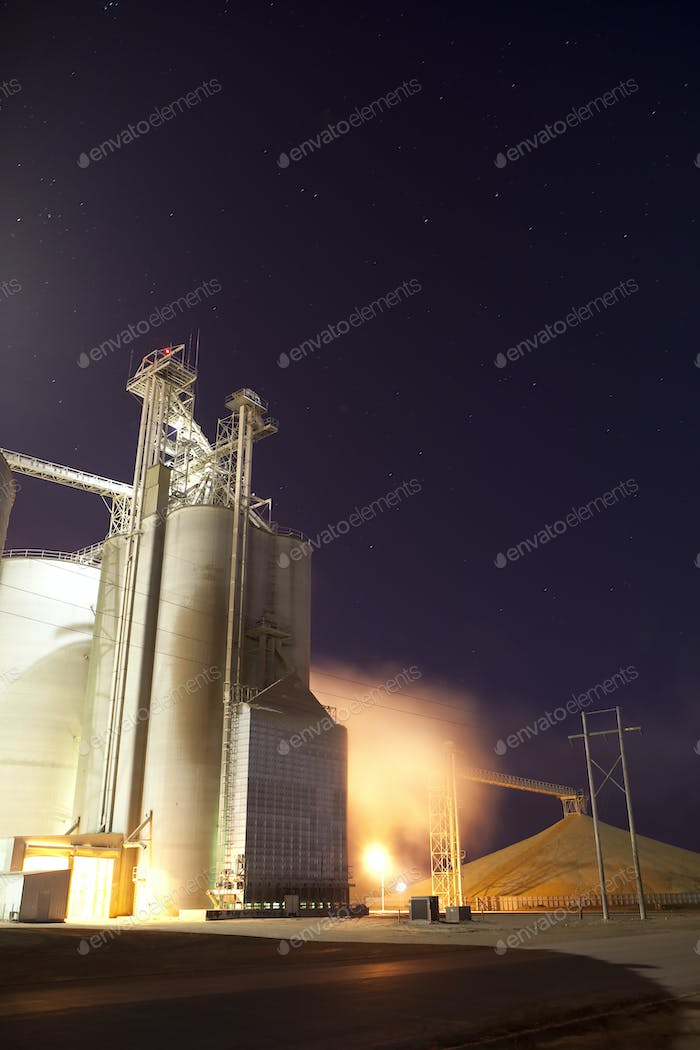 drying grain for ethanor