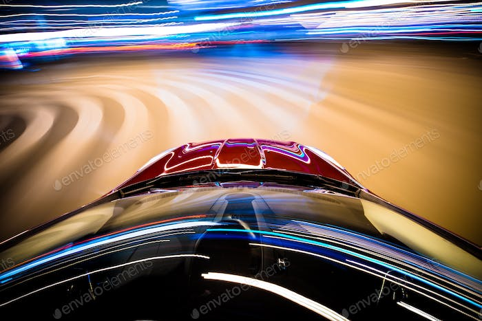 Speeding Car