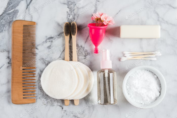 Zero waste beauty body care accessories