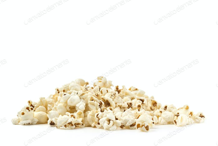 pile of pop corn