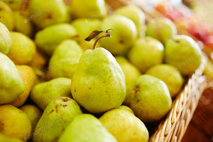 Pile of pears