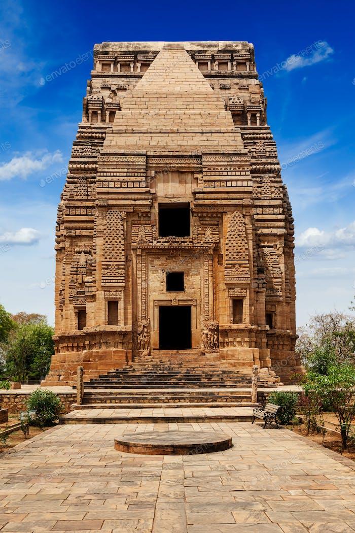 Teli Ka Mandir Hindu temple in Gwalior fort