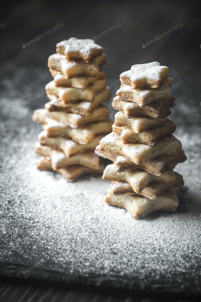 Homemade Christmas trees
