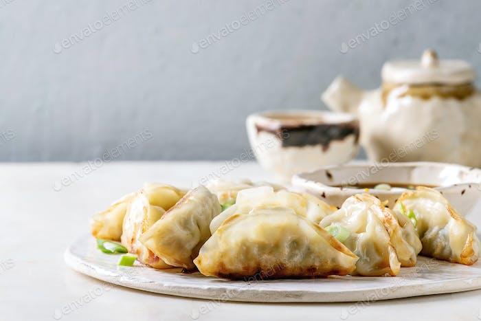 Dumplings Gyozas potstickers