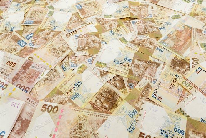 Fünfhundert Hongkong-Dollar