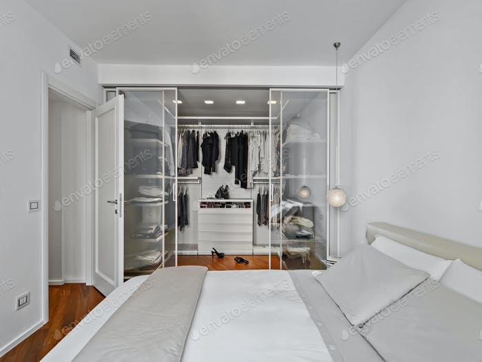 Interiors of a Modern Bedroom