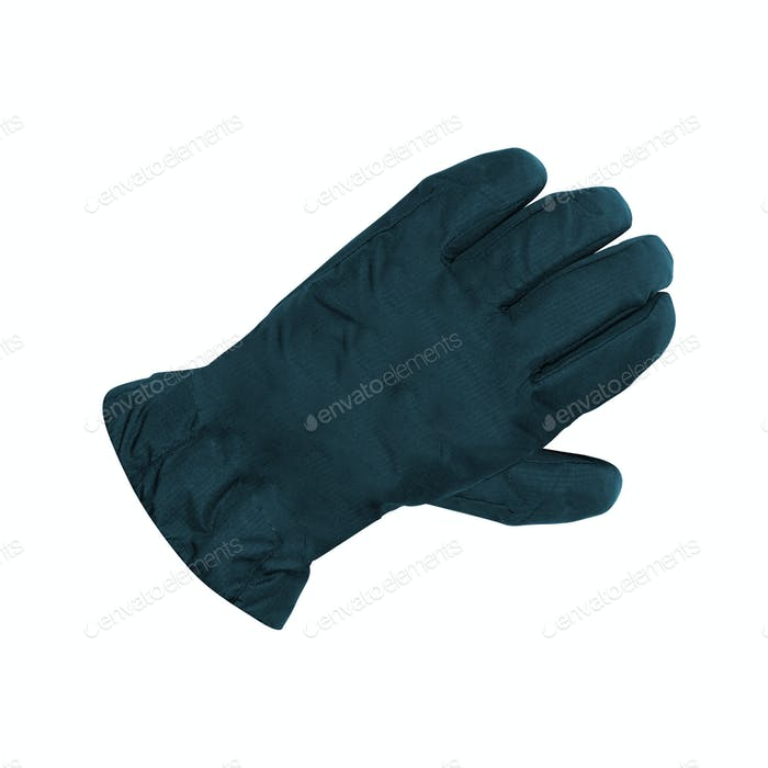 a glove on white background