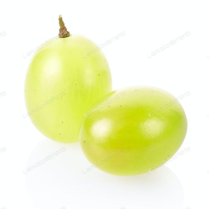 Grüne Traube Nahaufnahme