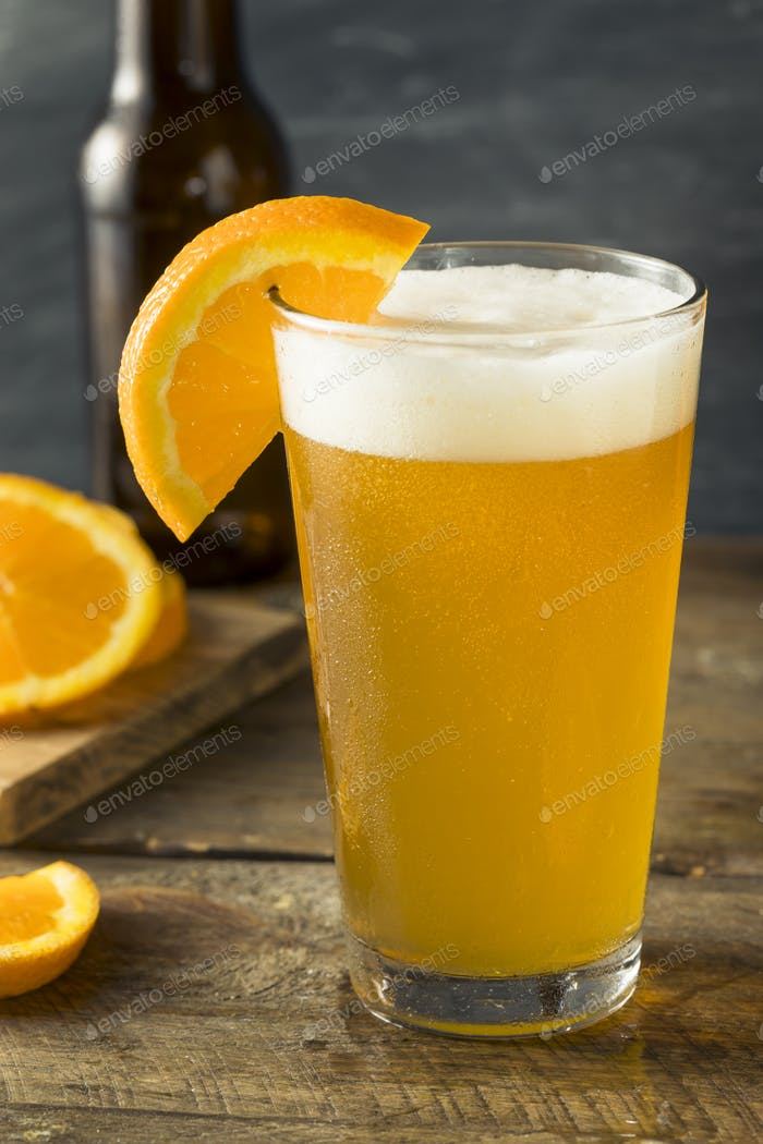 Organic Orange Citrus Craft Beer