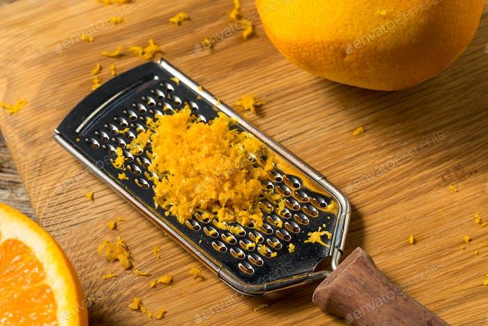 Raw Organic Orange Zest