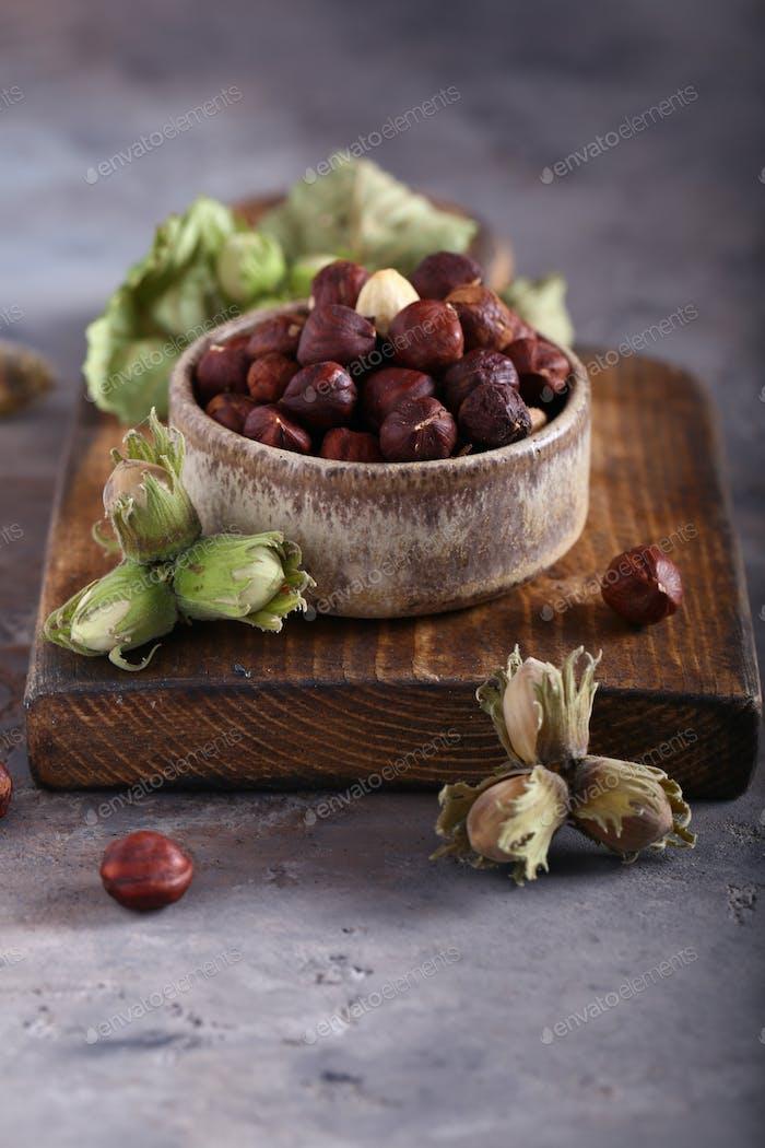 Organic Hazelnut Nut