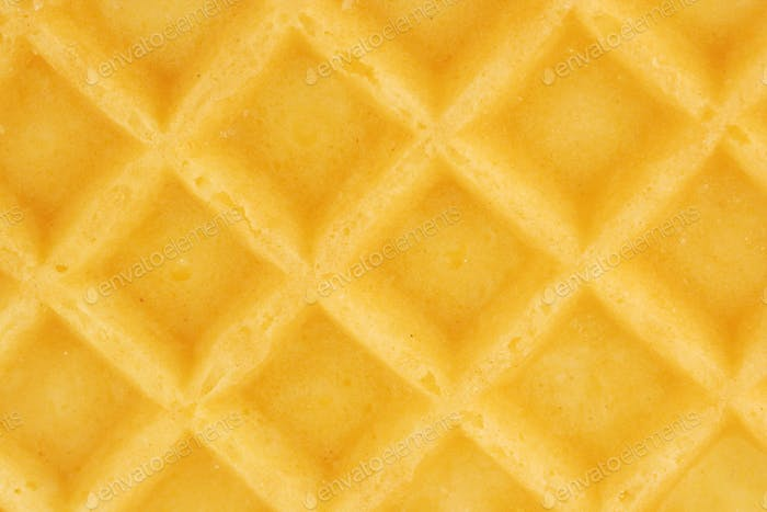 Breakfast waffle background