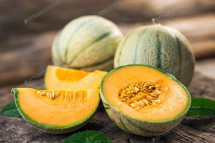 Fresh melons
