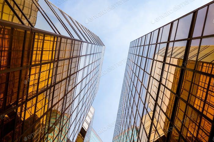Business Wolkenkratzer
