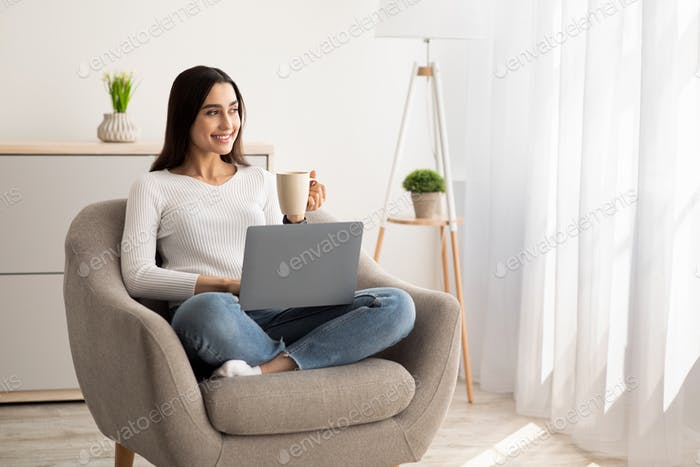 Favorite work at home, online study and self-isolation during COVID-19 outbreak