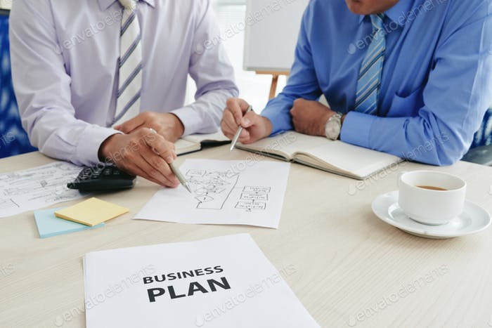 Creating business plan