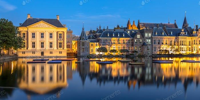 Parlament Binnenhof Den Haag