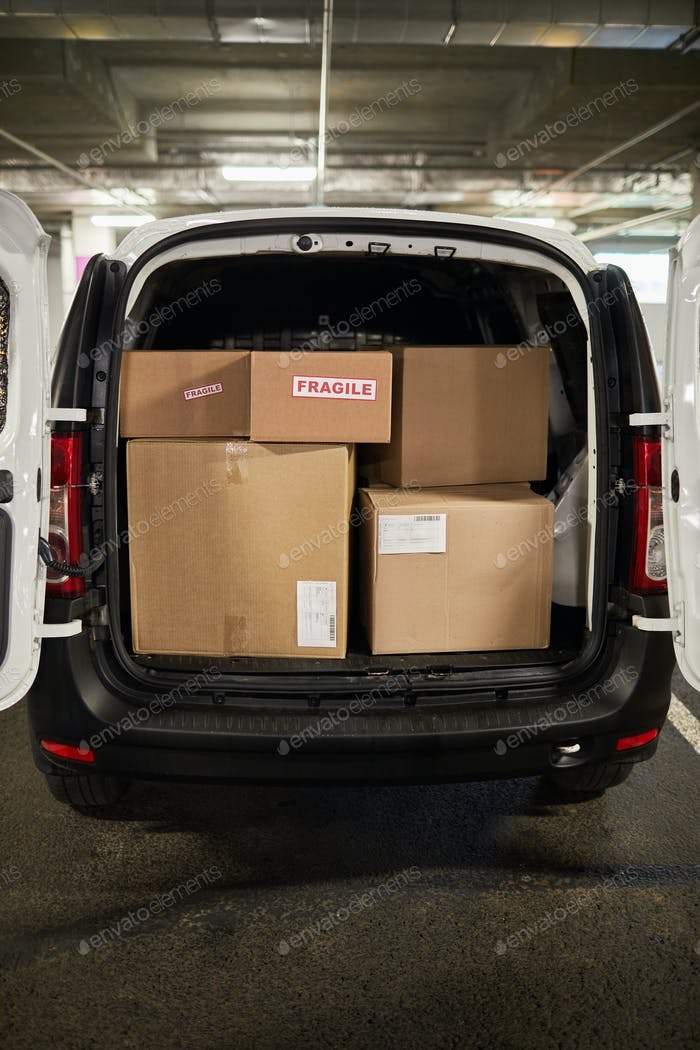 Moving Van Background