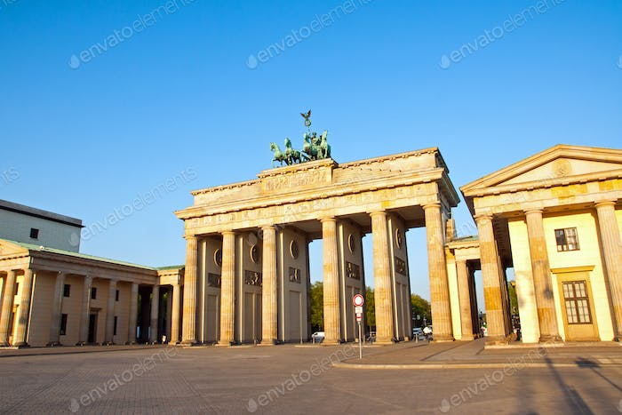 Brandenburger Tor am Morgen