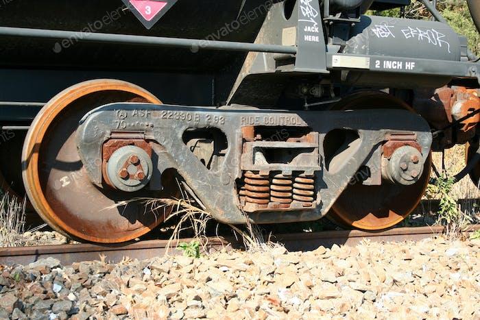 Train Car Wheels