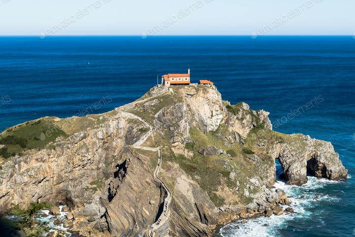 San Juan de Gaztelugatxe in Basque Country, Spain