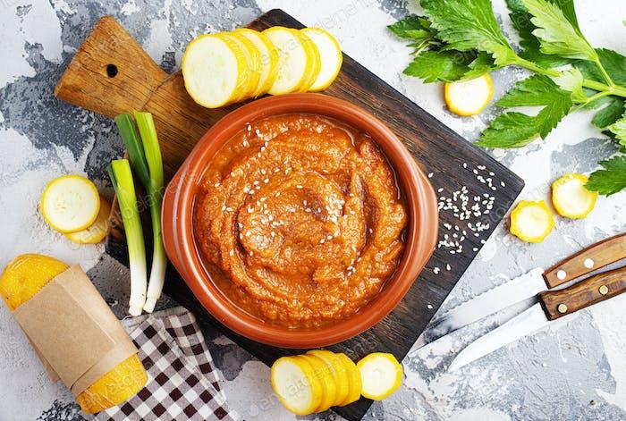 caviar de verduras