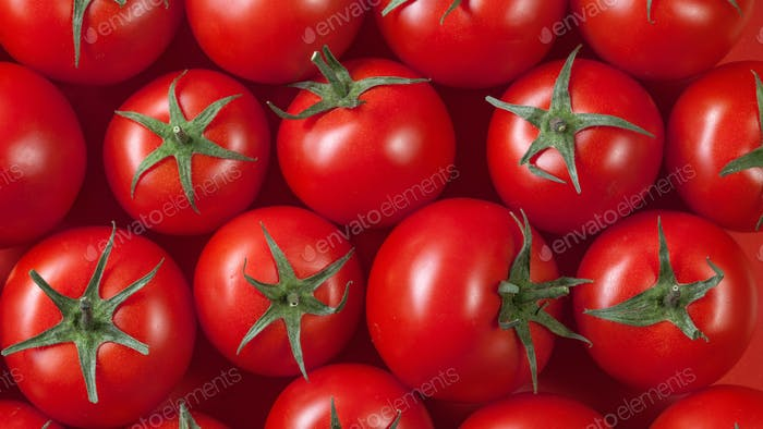 Thumbnail for red tomatoes background. top view