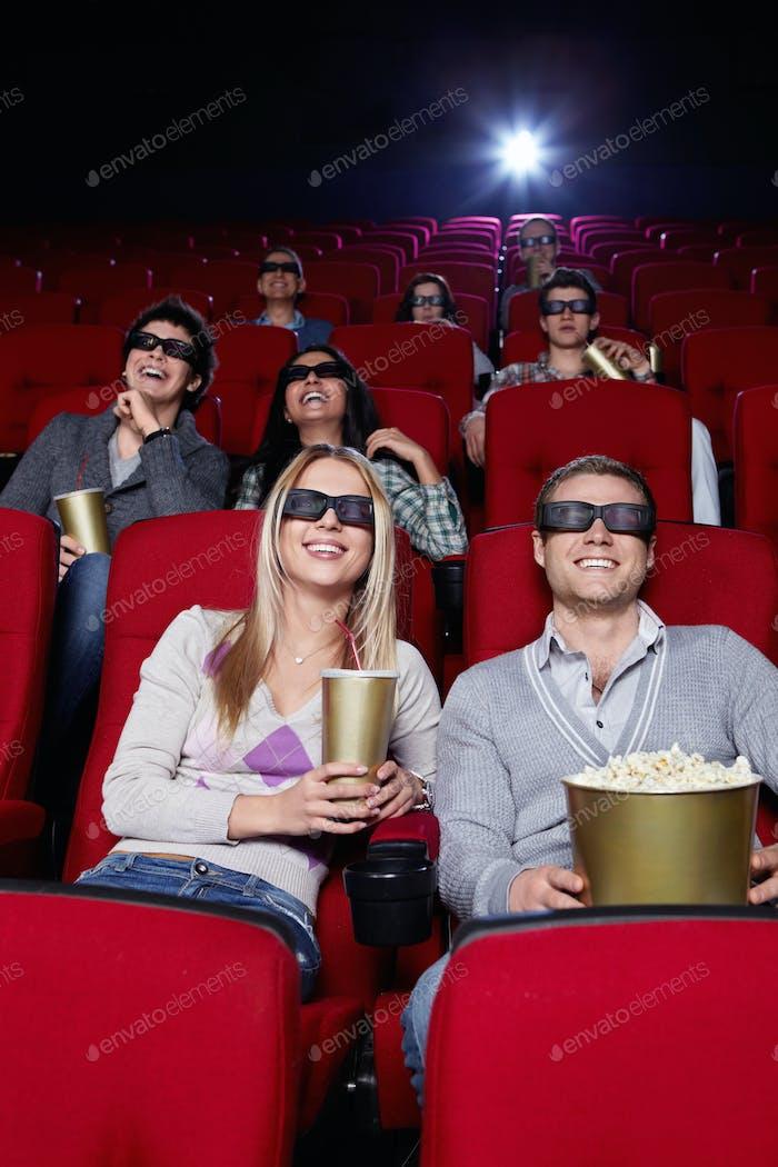 Youth at cinema