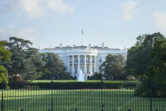 The White House Viewed from the South Side