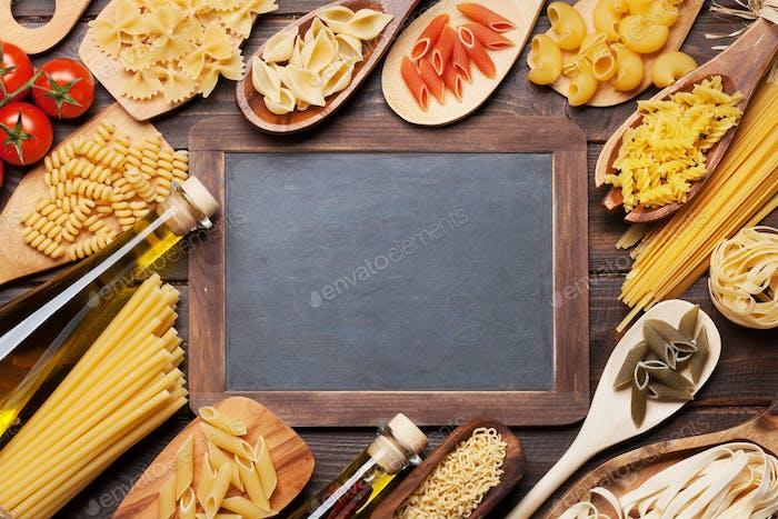 Various pasta