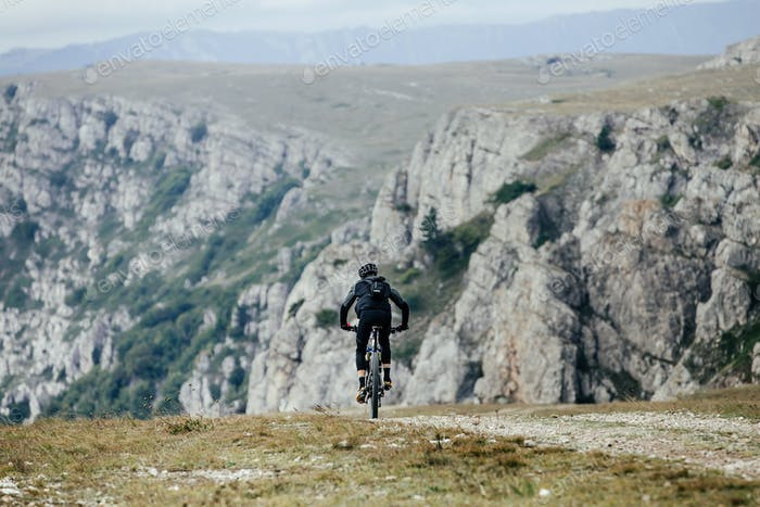 Male Cyclist on Mountainbike