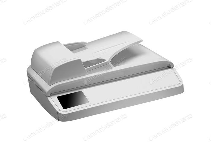 printer head isolated