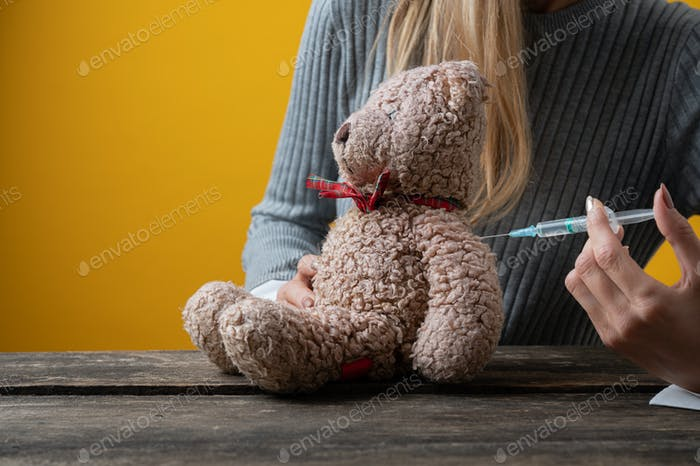 Konzeptionelles Bild der pädiatrischen Immunologie und Impfung
