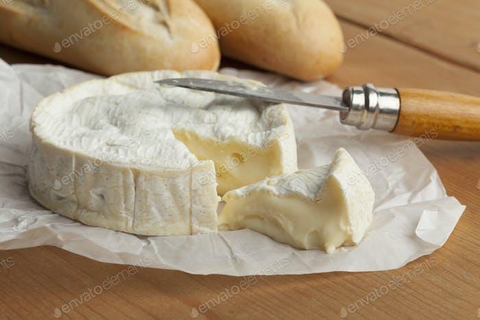 Fresh  French camembert
