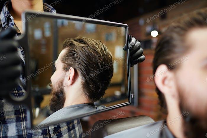 Reflejo en espejo