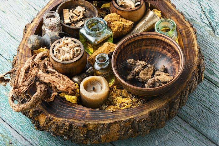 Various kinds of herbal