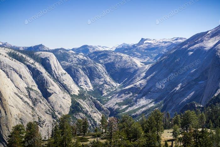 Landscape in Yosemite National Park, California