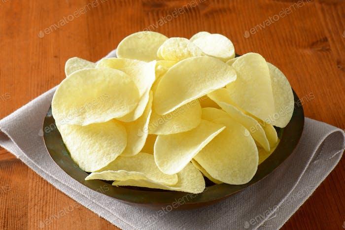 Gesalzene Kartoffelchips